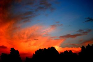 firestorm skies by CrisisCorps