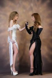 Good and Evil V Stock by tanit-isis-stock