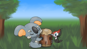 Komala and Pikipek