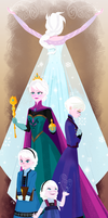 The Snow Queen by Tokio92