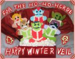 WoW Holiday Cookies - 2010 by Gillbob316