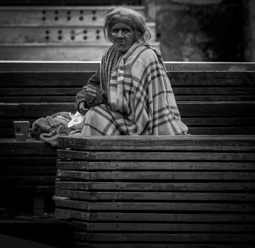 Homeless, Athens by MikeHeard