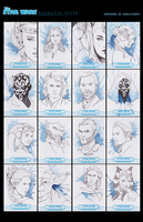Topps Galactic Files Reborn: Sketch Cards by KaelaCroftArt