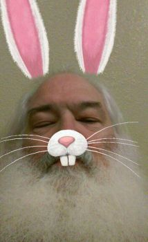 Easter Bunny ... Resting before the Big Day ! by JhawkR2010
