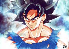 DRAGONBALL SUPER : Ultra Instinct Son Goku by jadenkaiba