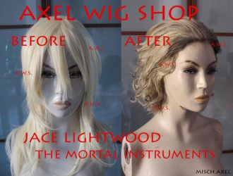 Jace Lightwood - The mortal istruments - WIG by MischAxel