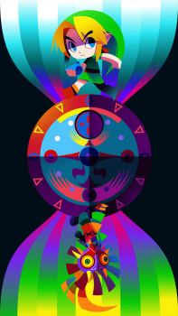 Majoras Mask Poster by hollyfig