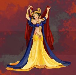 Disney Belly Dancers: Golden Age by Blatterbury