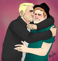 Kiss week day four - Peterick by Meglm5291