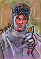 Dr. Horrible Sketch Card by ssava
