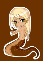 Brown Naga adoptable (CLOSED) by Oppai-Puddin