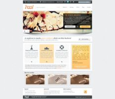 hoo! - PSD Template For Sale by arkgrafik