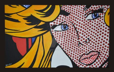 Tribute to Roy Lichtenstein by Frollino