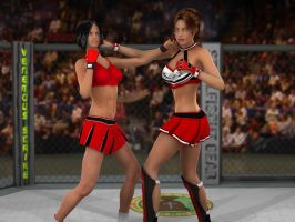 Tomiko vs Anne  04 by PhoenixCreed