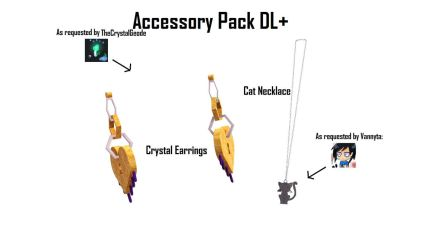[MMD Request] Accessory Pack DL+ by Hazem2017