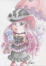 Watercolor Commission PERONA V2 by dekarogue