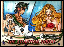 The Atlantian Threat - Commission by MarieJaneWorks