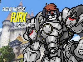 Play of the Game Badge: Ajax by the-gneech