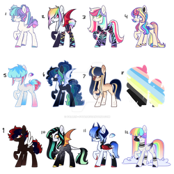 Mystery Adopts {Open} by Fallen--Fate