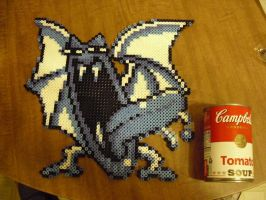 Golbat in Perler Beads