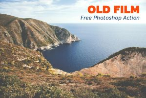 Free Old Film Photoshop Action by loadedlandscapes