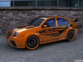 VW Bora Tunned Street Version by cipriany