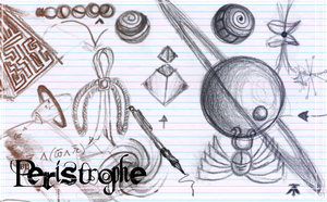 Brushes :: Pencilwork p1 by Peristrophe