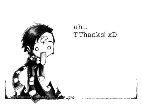 A 'Thank you' picture by Parororo
