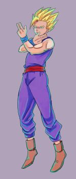Quick Gohan WHATUP by MSprinkleZ