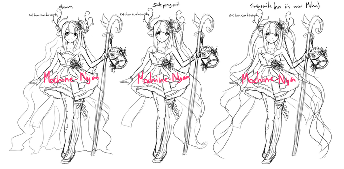 Help me decide hair T 7 T)// by Azuremia