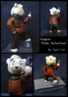 Eugene Polar - Detective Sculpture by tushantin