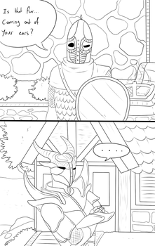 Short Comic - Clever Guards by ShadowInkWarrior