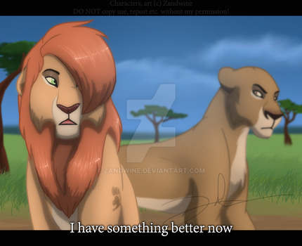 The Lion King - Not one of them by Zandwine