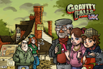 Gravity Falls UK by TheArtrix
