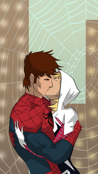 Peter and Gwen by cspencey