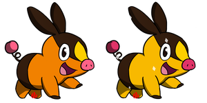 Pokemon #498 - Tepig by Fyreglyphs