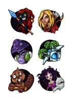 Snowball games web icons by melvindevoor