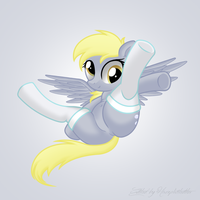 Derpy Hooves with Socks by ReduxDrawer8K