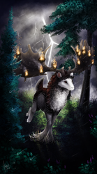 [C] .: The Endless fire :. by ancarie-bluewolf