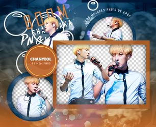 PACK PNG EXO CHANYEOL by ColorMeRad
