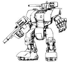 War Mech by Prime-Mover