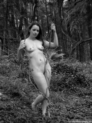 nude in woods 8 by deadheadphotography