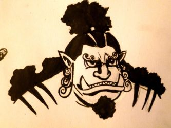 Jimbei doodle by CullenG-LSS