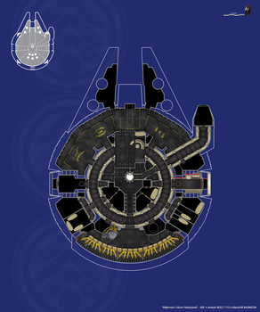 Millennium Falcon Refactored - V1 Aborted by Phaeton99