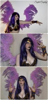Morgana Wing and Make Up Test by AnneTSeptik