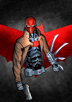 Jason Todd / RedHood Colored by Puekkers