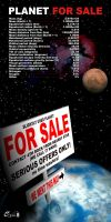 Planet For Sale by cg-art