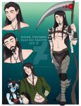 D and D: Davril Wilfaerd the Half-Elf Fighter by RavenBlake666