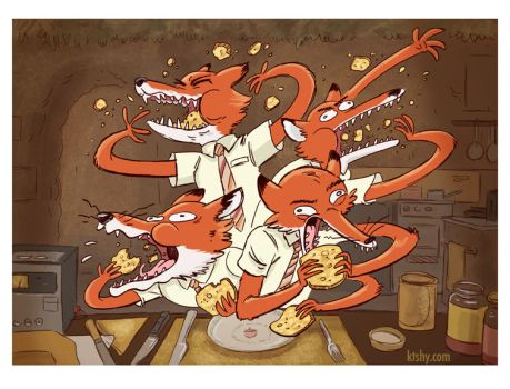 Fantastic Mr. Fox by ktshy