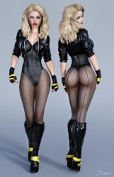 Character Reference Black Canary v3 by tiangtam